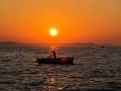 Pakoštane západ slunce