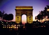 Vítězný oblouk na Champs Élyssées