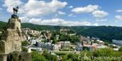 Karlovy Vary-výhled na město