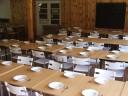 stravování v prostorných jídelnách