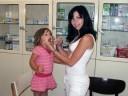 vybavená ošetřovna s marodkou